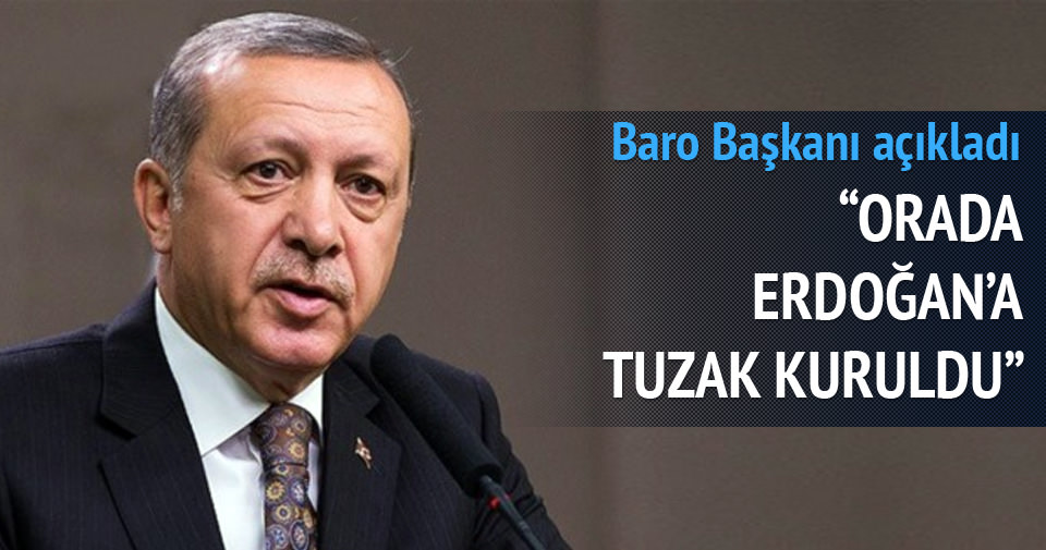 Ağrı'da aslında Erdoğan'a tuzak kuruldu