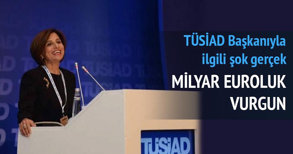 TÜSİAD Başkanı'nın sicili bozuk çıktı