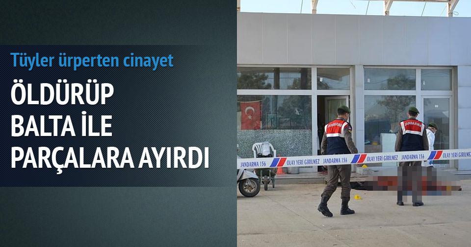 İstanbul'da baltalı dehşet!