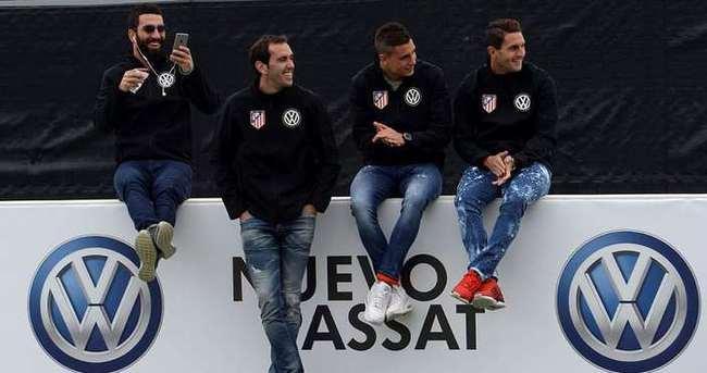 Atletico Madrid'ten sponsorluk anlaşması
