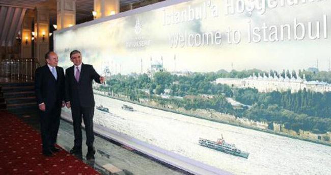 Abdullah Gül, Kadir Topbaş'ı ziyaret etti