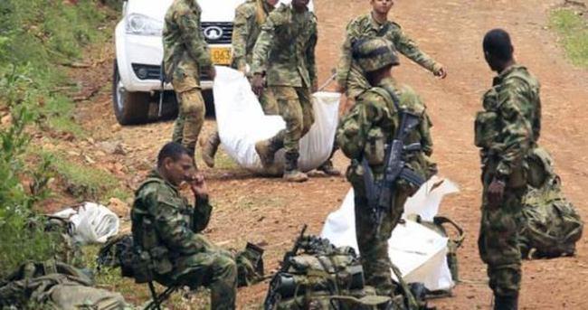 Askerlere şok saldırı: 11 ölü