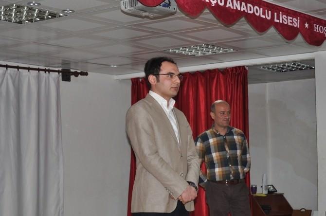 Cumhuriyet Savcısı Ülker, Mezun Olduğu Okulda Kariyer Günlerine Katıldı