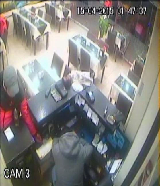 Lokantadan Para Hırsızlığı Kamerada