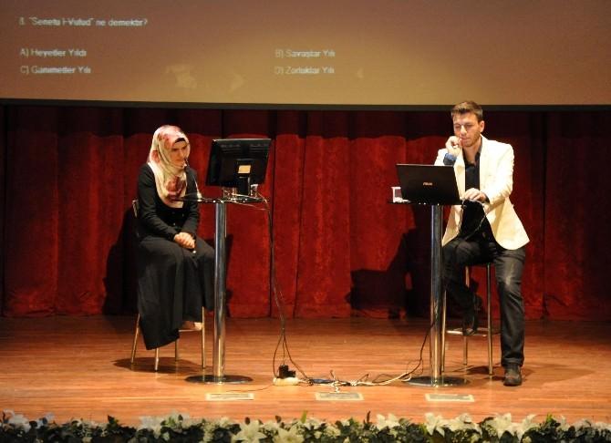 KBÜ'de 'O Nura Yolculuk' Adlı Bilgi Yarışması Düzenlendi