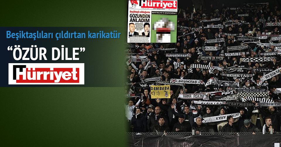 Beşiktaşlıları çıldırtan karikatür