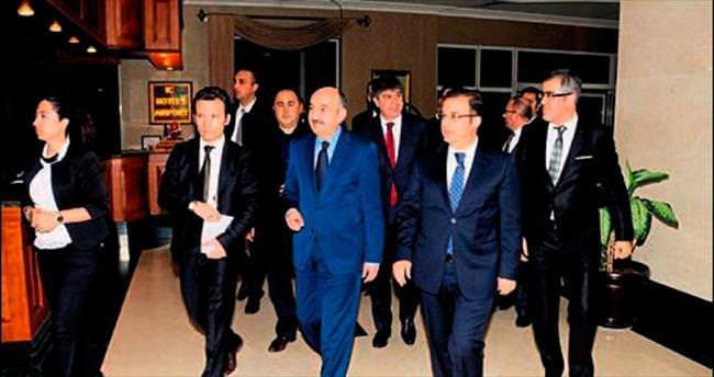 Müezzinoğlu'nun Antalya ziyareti