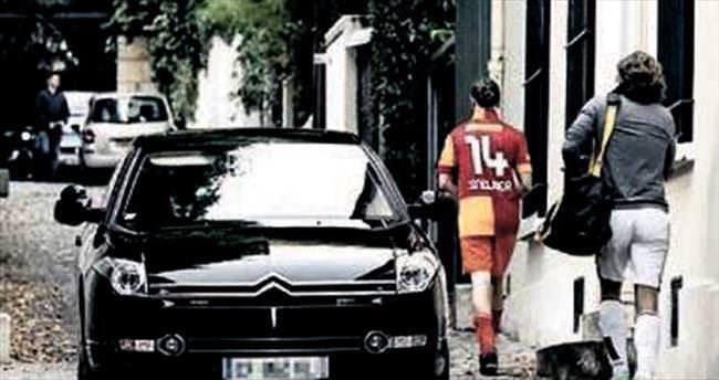 Sarkozy'nin Galatasaray sevgisi