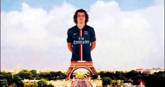 David Luiz, Paris'in yeni simgesi oldu!