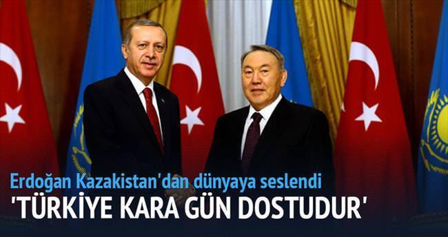 'Türkiye kara gün dostudur'