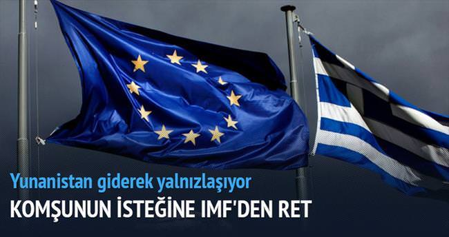IMF'den Yunanistan'a ret geldi