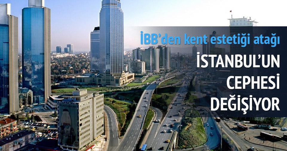 İstanbul'a cephe makyajı