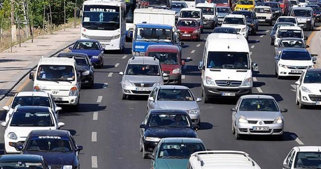 Trafiğe kayıtlı araç sayısı 19 milyonu geçti