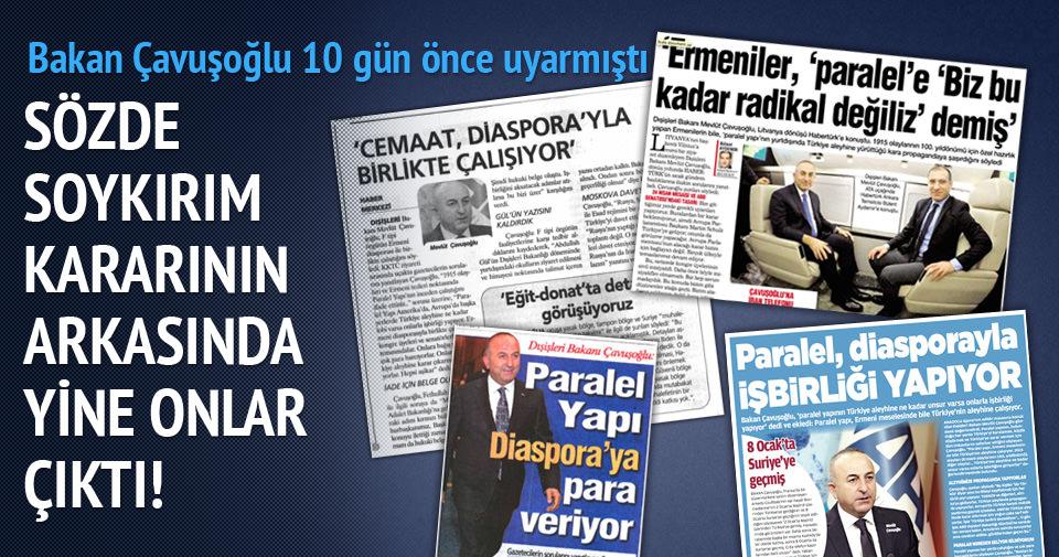 Bakan Çavuşoğlu 10 gün önce uyarmıştı