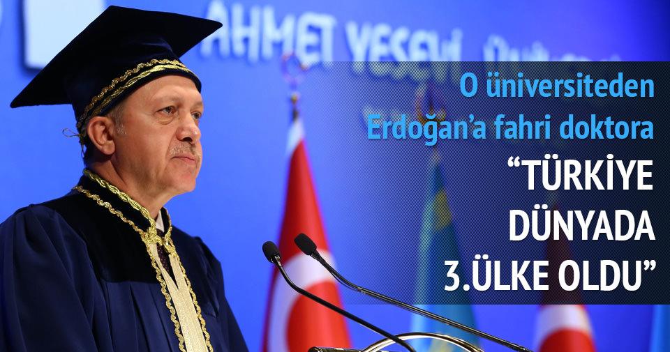 Erdoğan: Doğu Türkistan'dan gelen haberlerden endişeliyiz