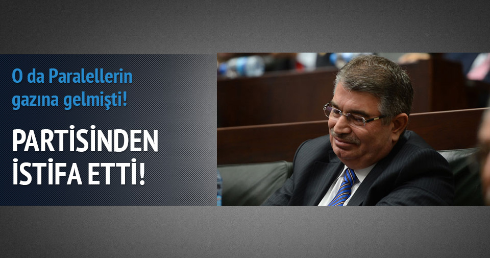 İdris Naim Şahin istifa etti!