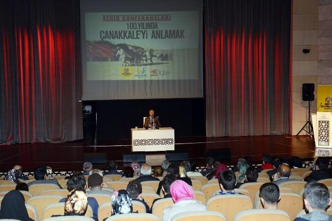 Konya'da 100. Yılında Çanakkale'yi Anlamak Konferansı