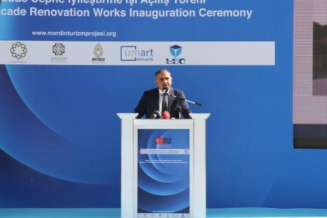 Mardin 1. Cadde'nin Yeni Yüzü İçin Açılış Yapıldı