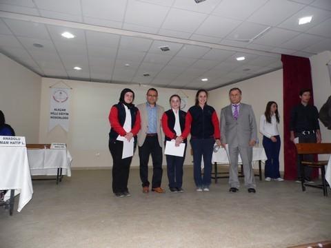 Alaçam'da Liseler Arası Bilgi Yarışması