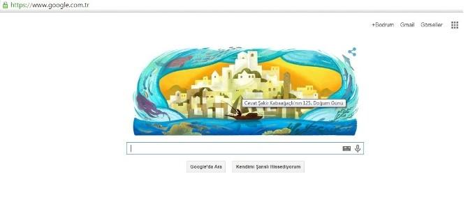 Halikarnas Balıkçısı'nı Google'de Unutmadı