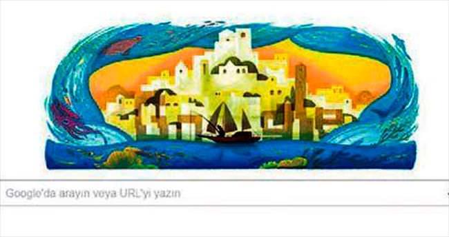 Kabaağaçlı için Google'dan 'doodle'