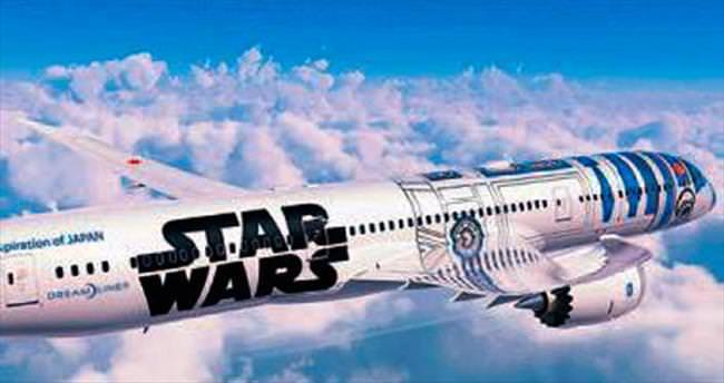 Star Wars uçağı Japonya'da hazır