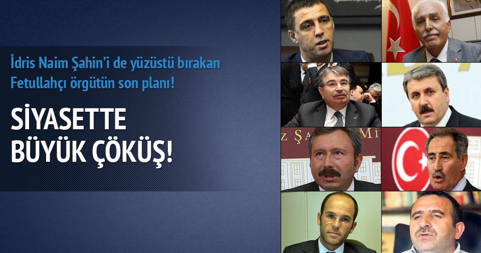 İdris Naim Şahin'i de yüzüstü bırakan Fetullahçı örgütün son planı!