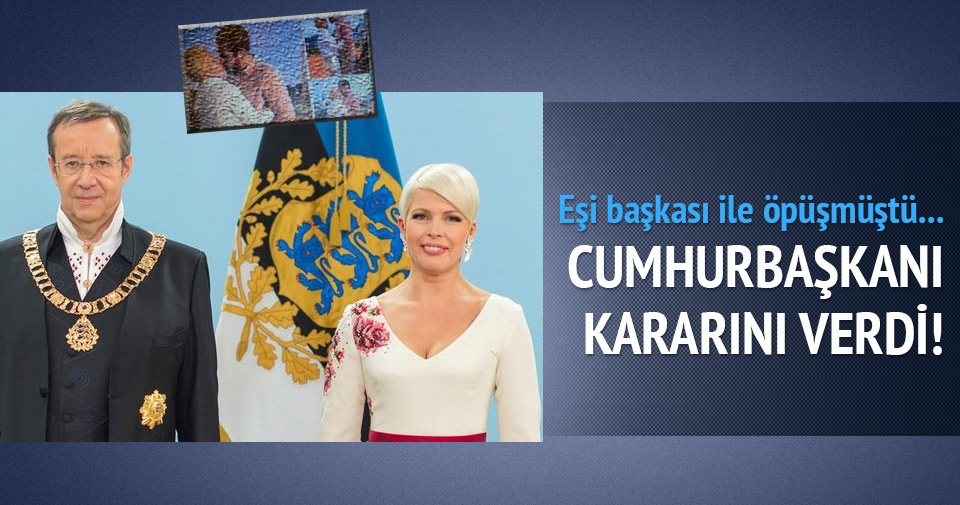 Estonya Cumhurbaşkanı Ilves eşi ile yollarını ayırdı