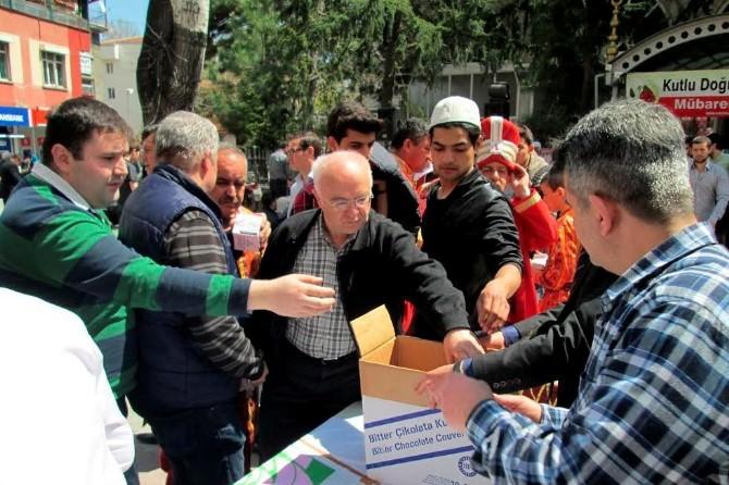 Isparta Belediyesi Kandil Simidi Dağıttı
