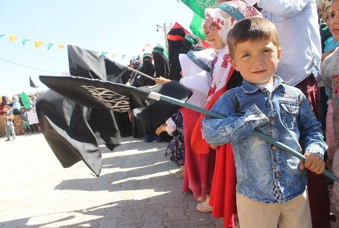 Ortaköy'de Kutlu Doğum Coşkuyla Kutlandı