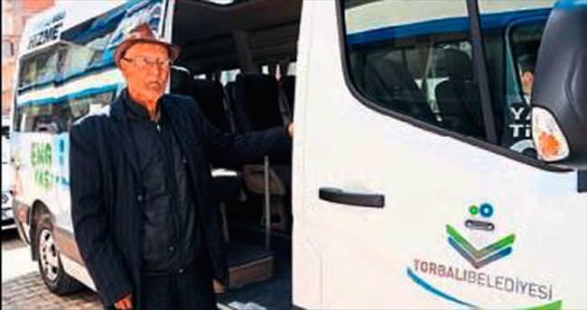 Torbalı'da İZBAN yolcularına hizmet