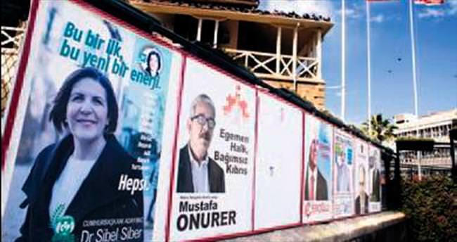 Kıbrıs'ta halk bugün sandık başında