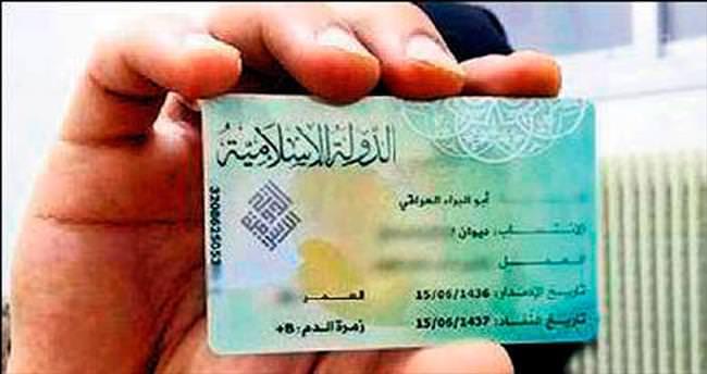 IŞİD sadece erkeklere kimlik kartı veriyor
