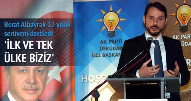 'AK Parti istikrar ve güvenin ana dinamiği'