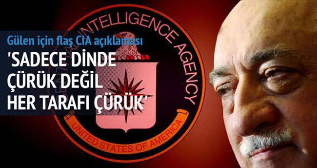 Mısıroğlu: Gülen CIA'nın kuklasıdır