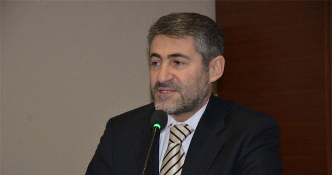 Nureddin Nebati seçim bölgesinde