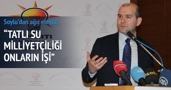 AK Parti Genel Başkan Yardımcısı Soylu'dan ağır eleştiri