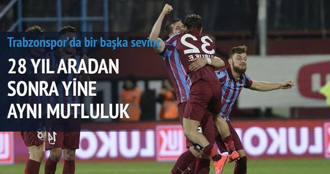 Trabzonspor'dan 28 yıl sonra bir ilk!
