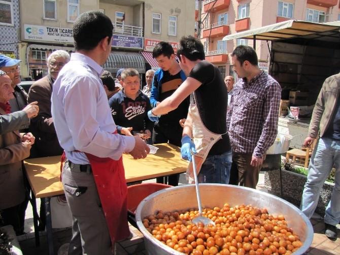 Hisarcık Anadolu İmam Hatip Lisesinden Kutlu Doğum Lokması