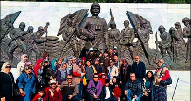 Konyalılar Derneği Çanakkale'yi gezdi
