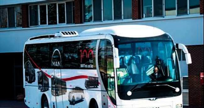 Türkiye'nin ilk 'güneş otobüsü' yollara çıktı