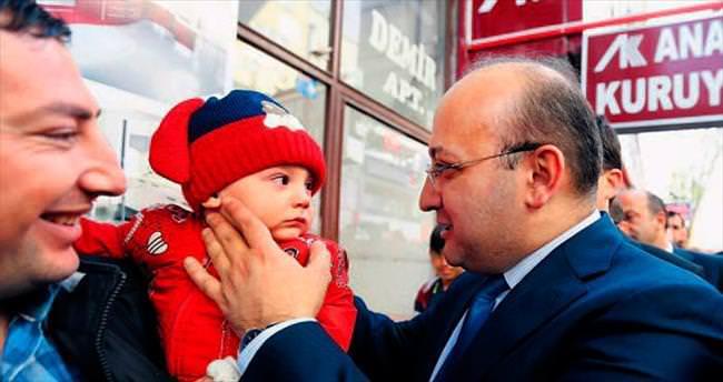 Akdoğan, Polatlı'da vatandaşlarla buluştu