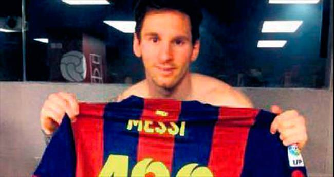Messi 400 dedi