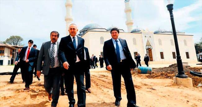 ABD'deki Türk camisini Erdoğan ve Obama açacak