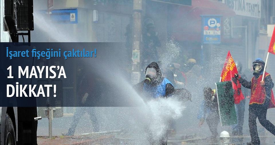 1 Mayıs'ta Taksim'e kanlı Kobani planı