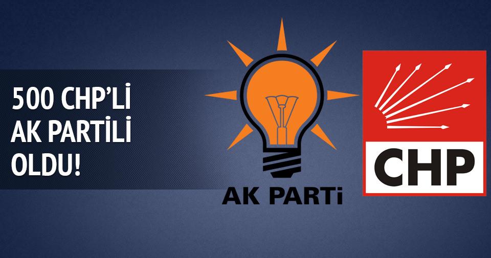İzmir'de 500 CHP'li AK Partili oldu