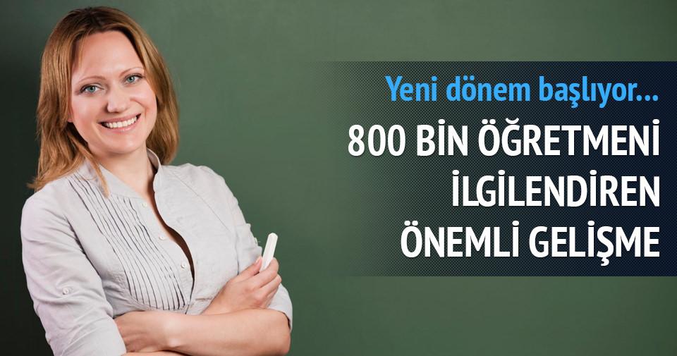 800 bin öğretmen e-imzaya geçiyor