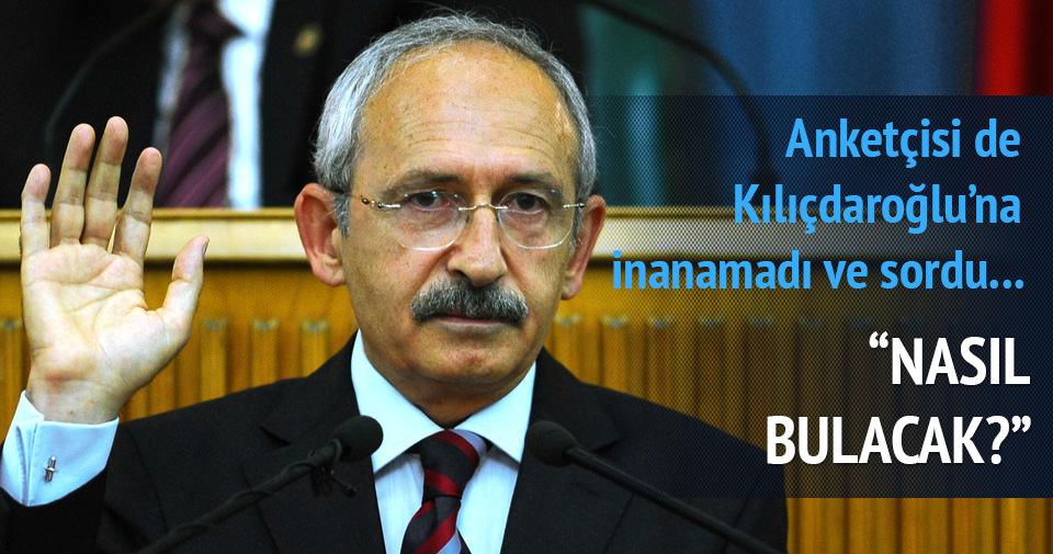 Kılıçdaroğlu'na anketçisi de inanmadı: Nasıl bulacak?