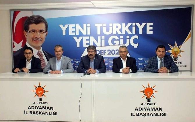 Milletvekili Erdoğan'dan Teşkilata Teşekkür Ziyareti