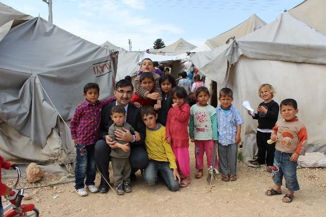Suriyeli Çocuklar Aşılandı